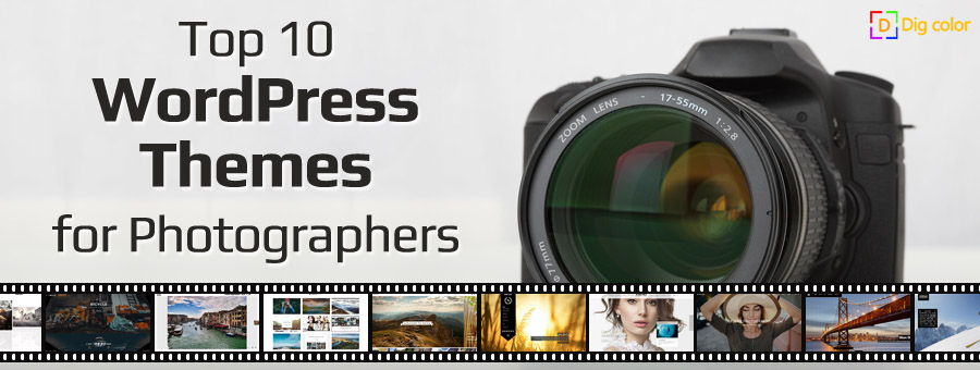 Top 10 Wordpress Themes for Photographers